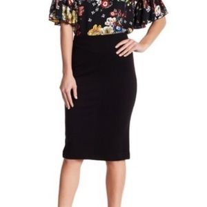 NWT Catherine Malandrino Nordstrom Midi Long Skirt